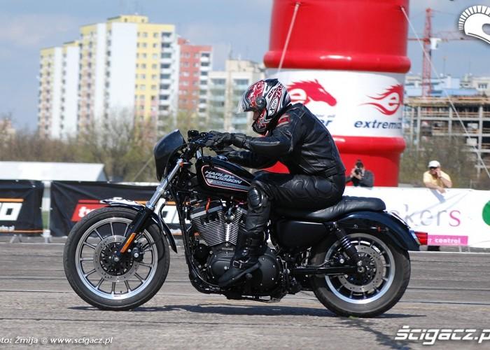 Harley Davidson na cwiartke mil