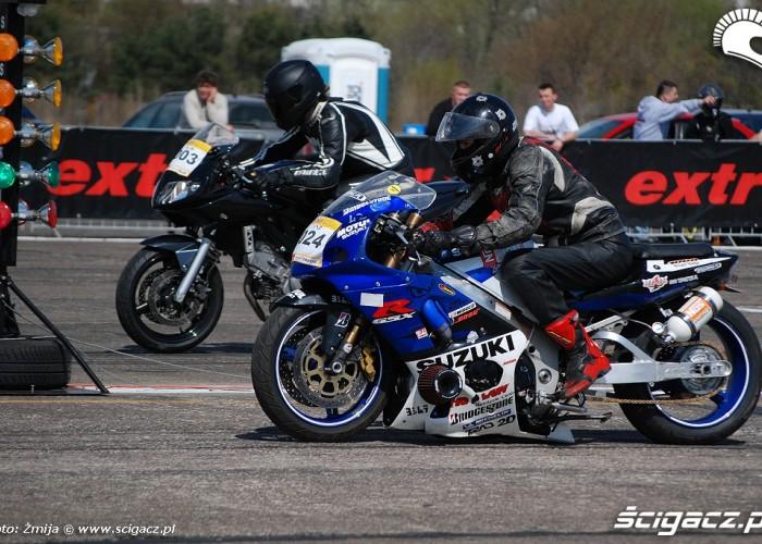 Motocykle rywalizacja cwiartka mili
