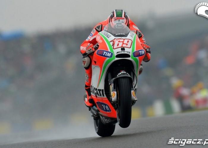 Hayden MotoGP Le Mans 2012