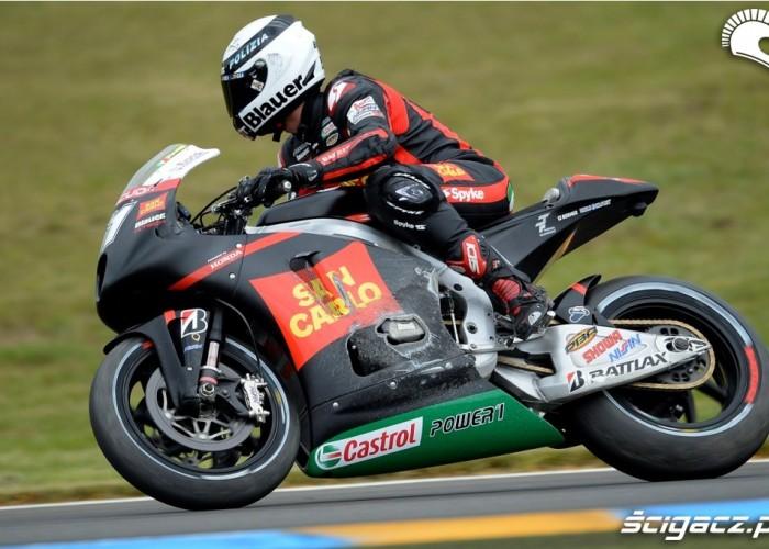 Pirro MotoGP Le Mans 2012