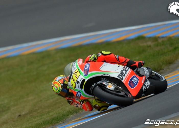 Rossi na zakrecie