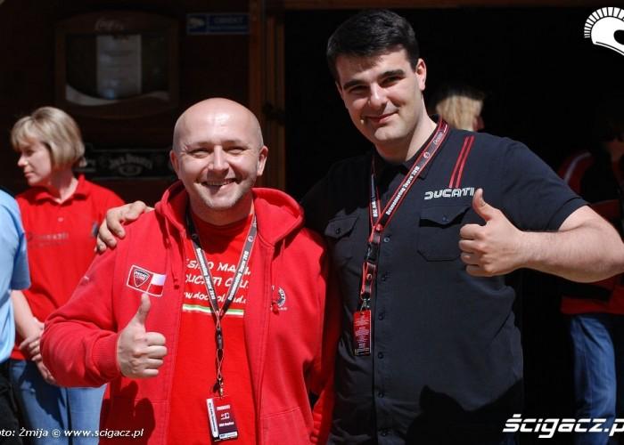 Jacek Frankiewicz Michal Przezdziek Ducati