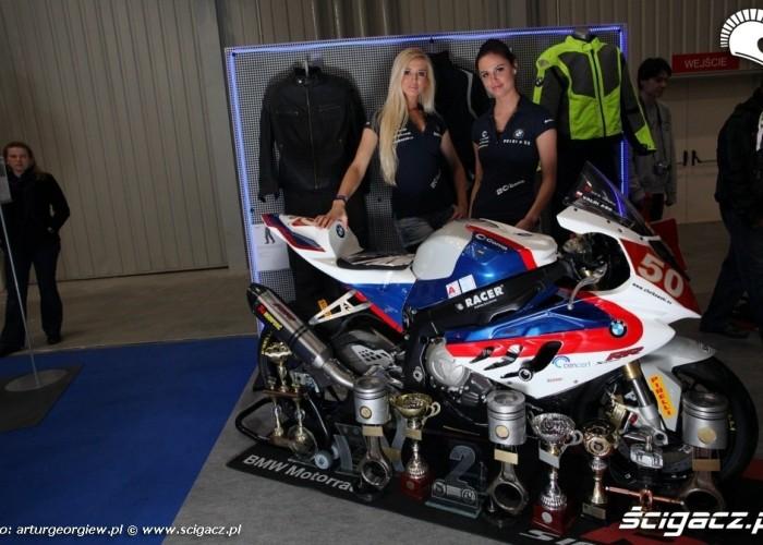 bmw s1000rr hostessy III Ogolnopolska wystawa Motocykli i Skuterow