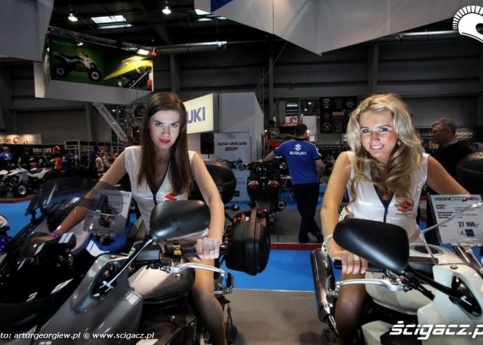 dziewczyny na motocyklach III Ogolnopolska wystawa Motocykli i Skuterow