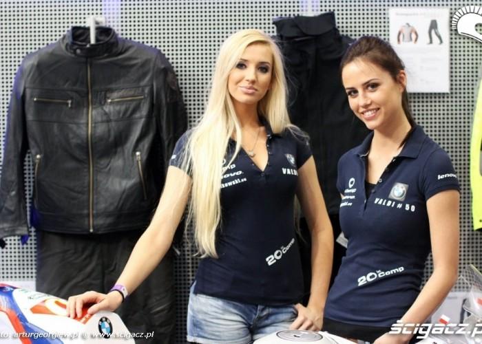 hostessy bmw Valdi III Ogolnopolska wystawa Motocykli i Skuterow