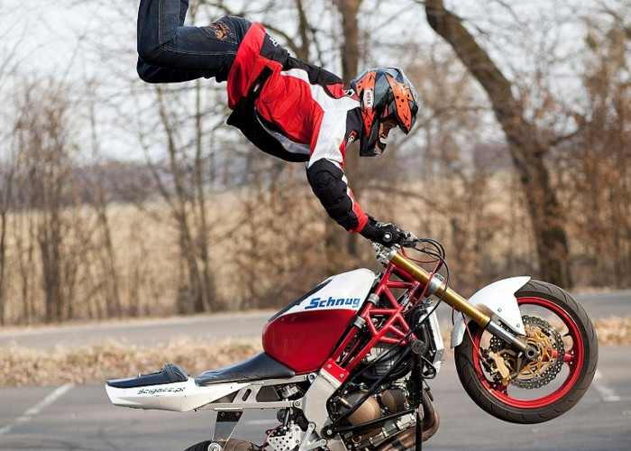 Jump Air stunt Rafal Pasierbek