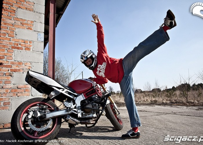 Kung Fu Streetbike Freestyle