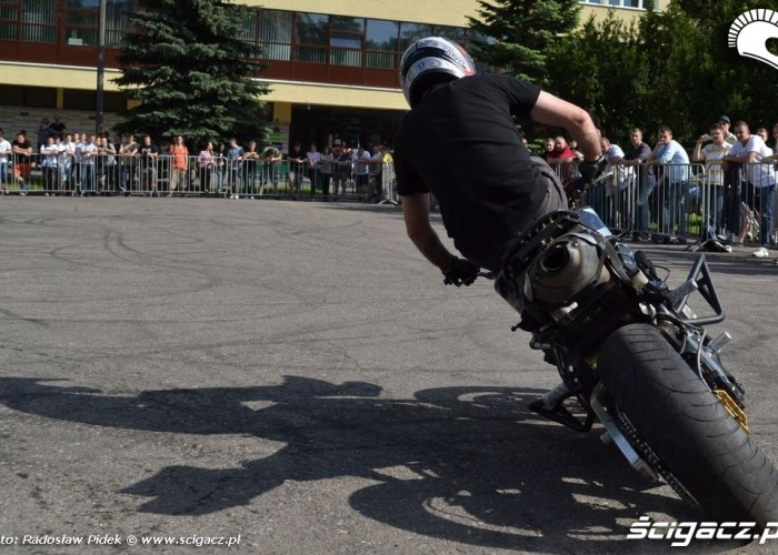 drift motocyklowy - Juwenalnia Politechnika Lubelska 2011