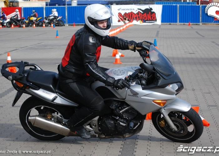 Honda CBF Gymkhana