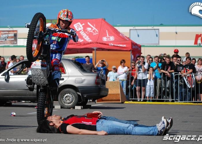 Honda Marki pokaz trialu