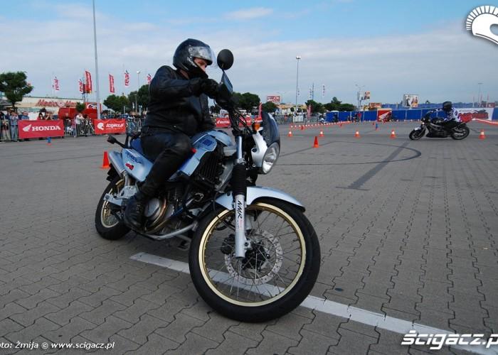 Honda Transalp Gymkhana
