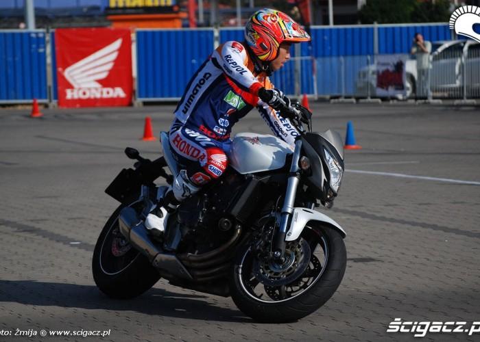 Hornet przejazd Takahisa Fujinami