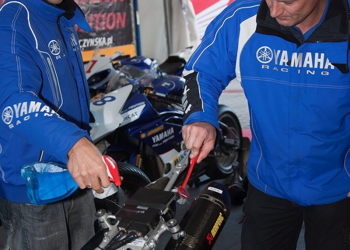 badziak myje motocykl wmmp vii runda poznan 103