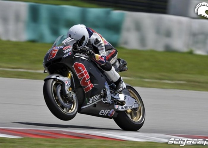 2012 Bradl Action Day One Sepang Test