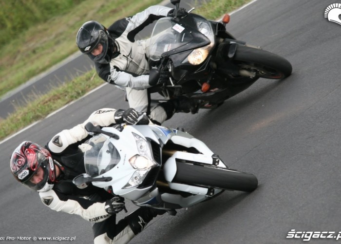 GSX-R vs CBR Fun and Safety Pro-Motor LUBLIN