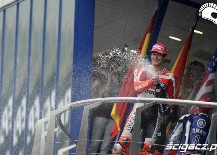 Hayden podium Hiszpania