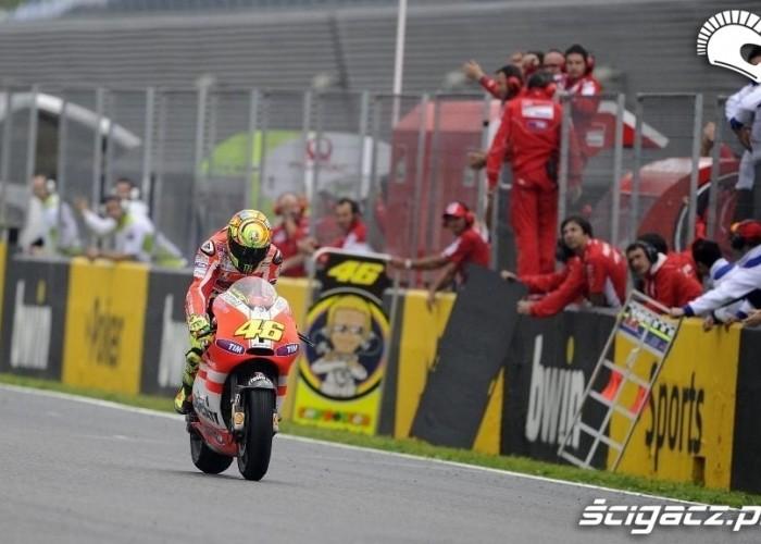 Valentino Rossi Hiszpania 2011