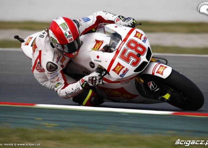 Marco Simoncelli san carlo GP Hiszpanii