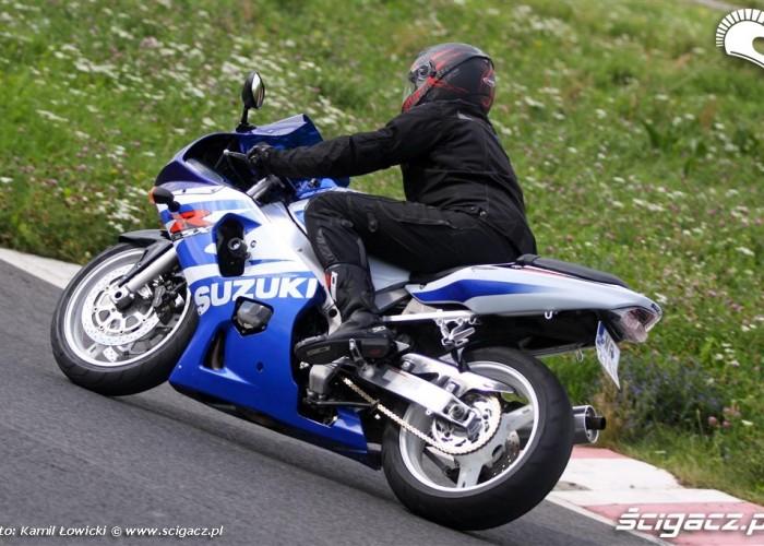 gsxr treningi motocyklowe