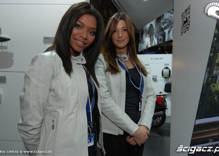 Dziewczyny BMW targi