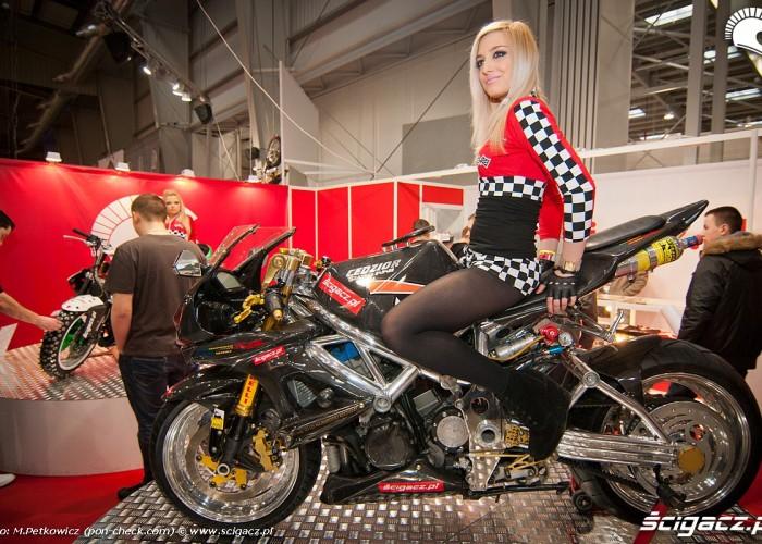 cedzior scigacz stoisko targi motocyklowe