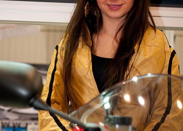 hostessa yamaha targi wystawa motocykle