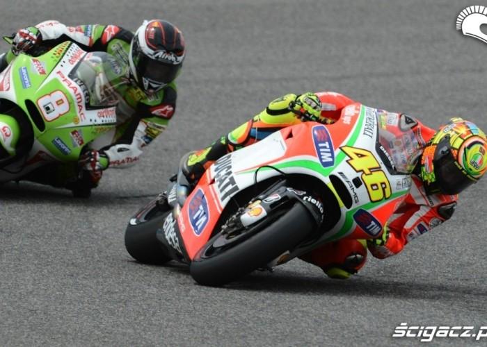 Motocykle Ducati MotoGP 2012 Jerez