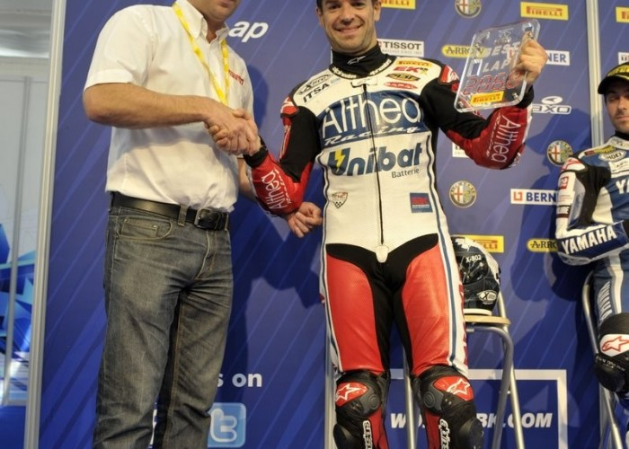 best lap pirelli checa