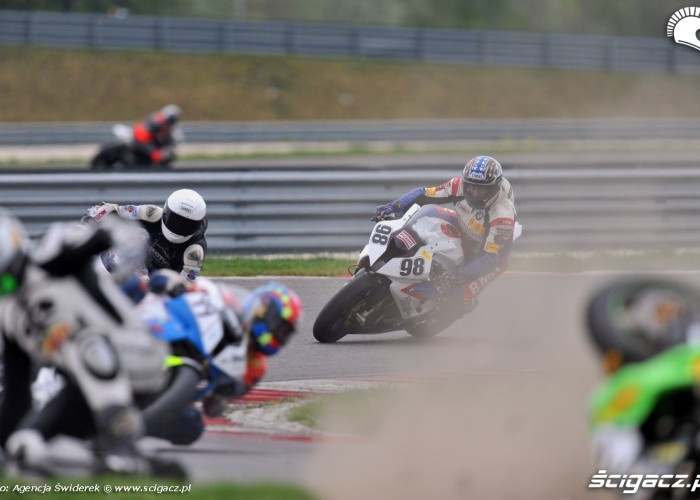 wypadek WMMP Slovakiaring 2012
