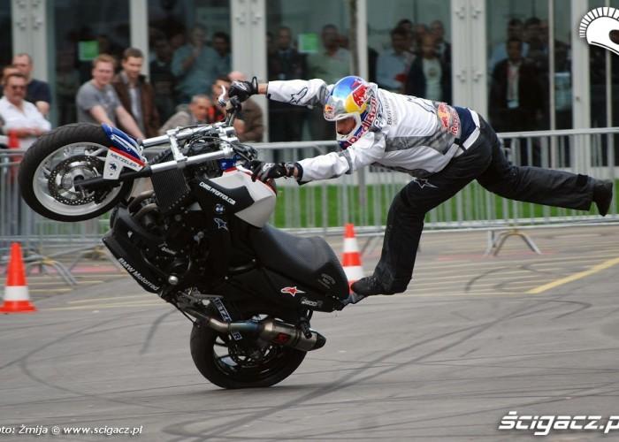 BMW freestyle rider Chris Pfeiffer