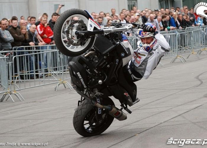 BMW stunt rider Chris Pfeiffer