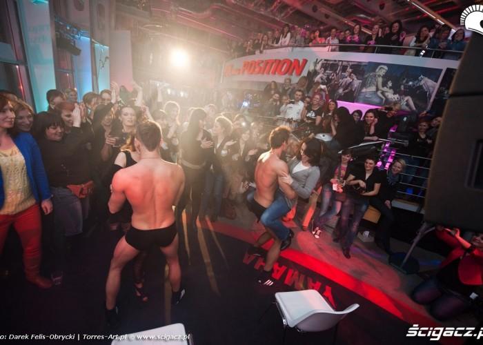 Poland Position striptease