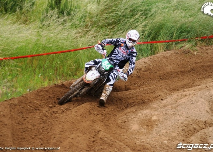 gas gas junior zakret racing ms enduro 2010 polska