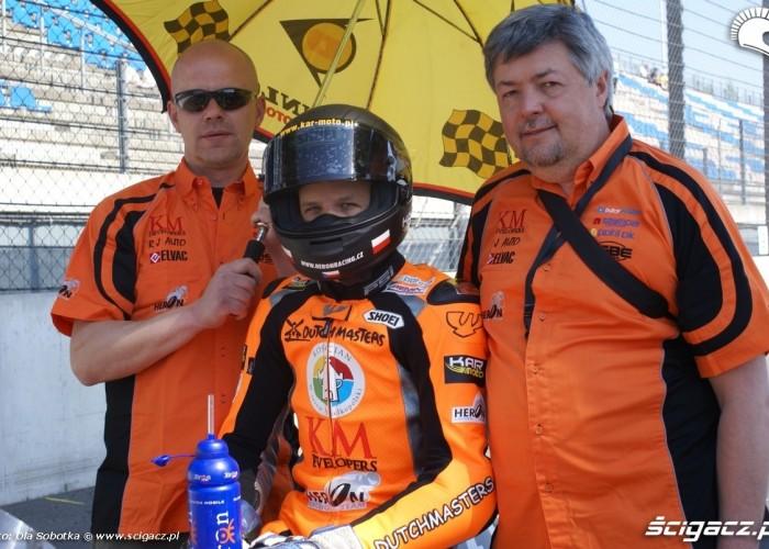 Kaczor szymon kaczmarek wyscig 125ccm 2011 Lausitz