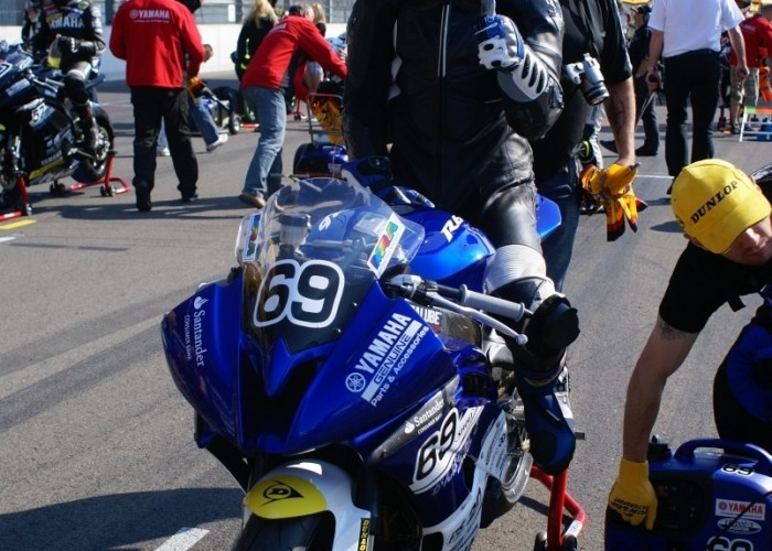 Patryk Kosiniak start pucharu R6 lausitz 2011