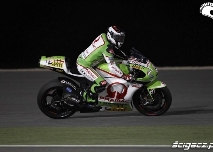 Barbera Pramac Team Katar GP 2012