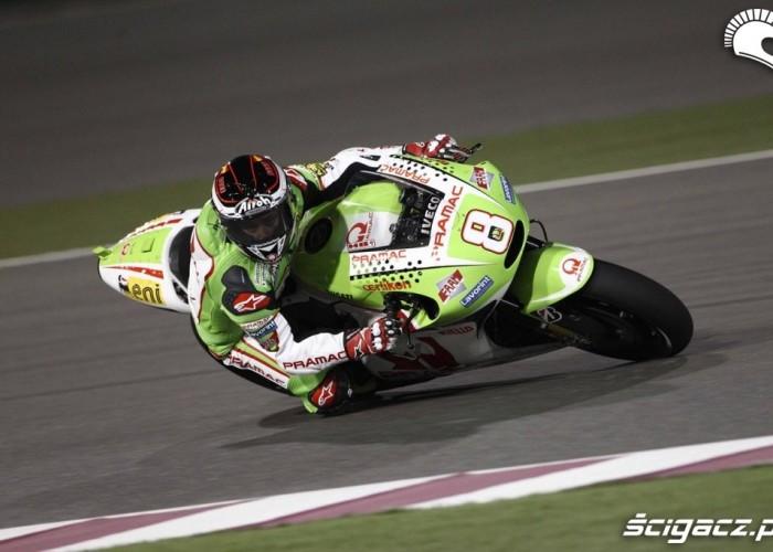 Barbera race Katar GP 2012