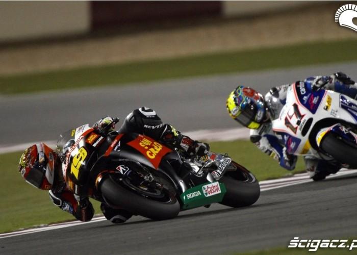 Bautista vs Abraham Katar Grand Prix 2012