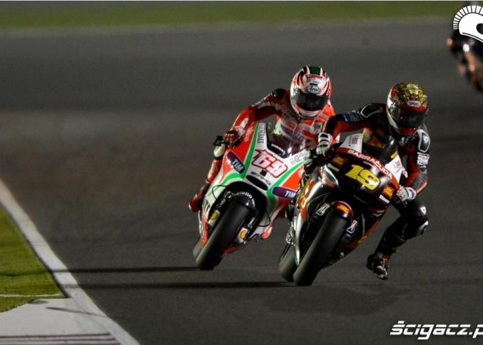 Bautista vs Hayden Katar Grand Prix 2012