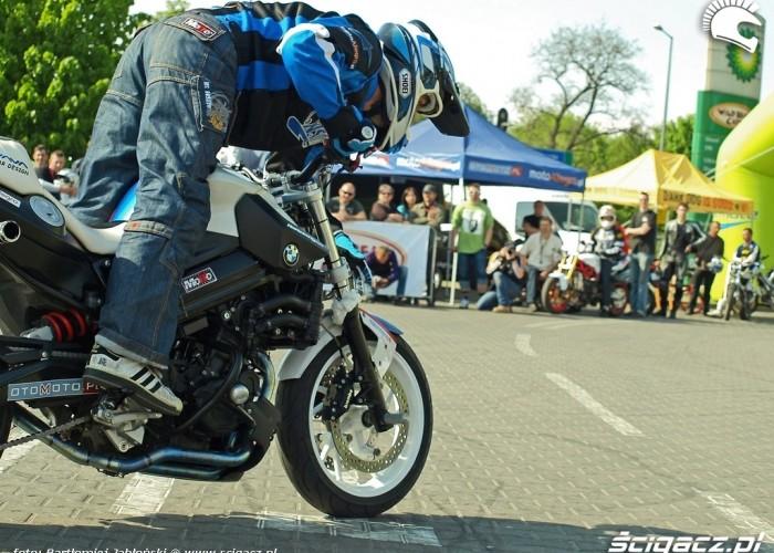 palenie gumy raptus Poznan 2011 - Motocyklowa Niedziela Na BP