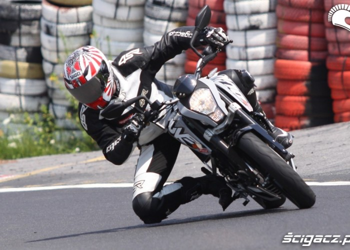 KTM Duke kolano scigacz pl