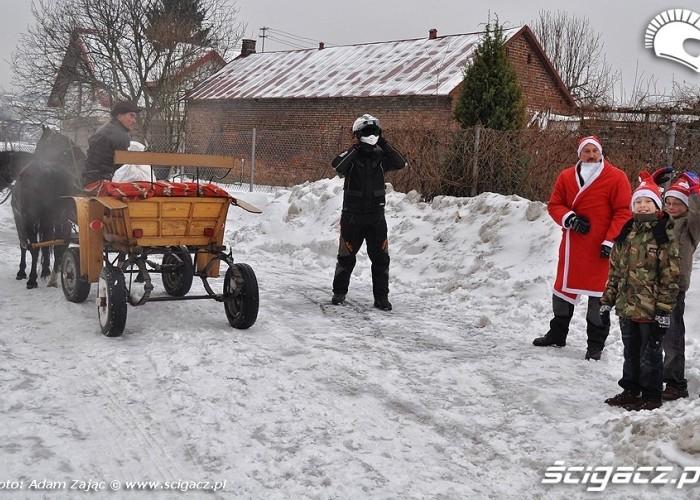 przygotowanie do jazdy Lublin 2010
