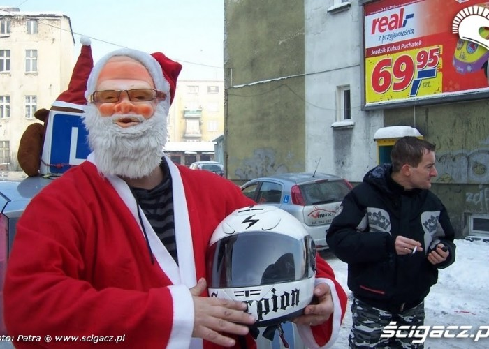mikolaje na motocyklach white - Zaglebiowsko-Slaskie