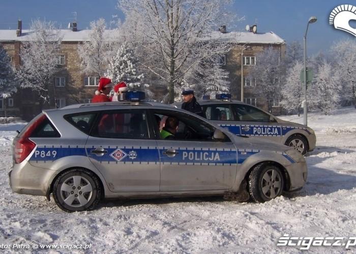 policja na motomikolajach - Zaglebiowsko-Slaskie