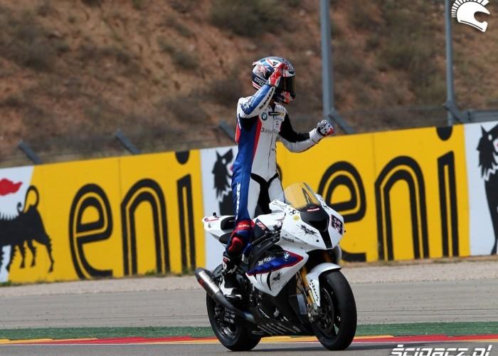 Superbike Melandri finish