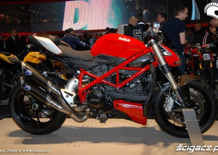 Ducati Streetfighter targi