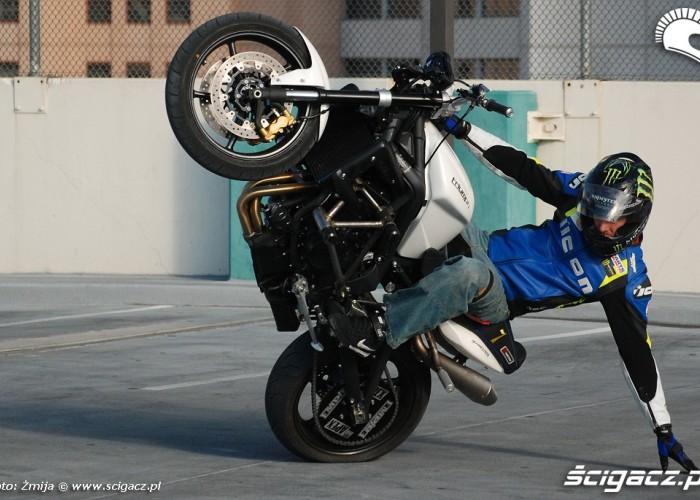 Stunt trening Nick Apex