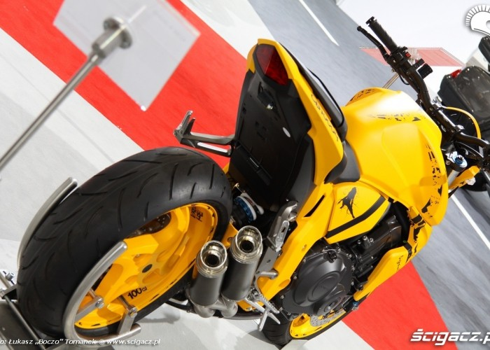 Honda CB1000R Osobliwosci na Intermot 2010