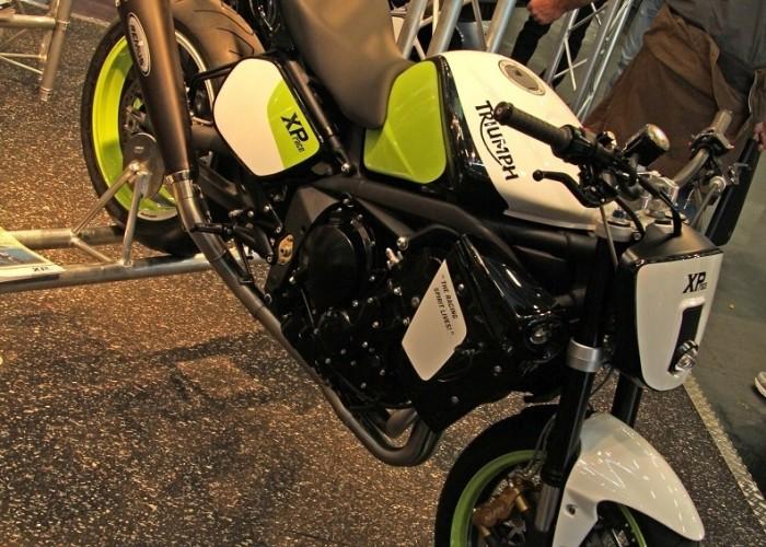Triumph tuning XR Osobliwosci na Intermot 2010