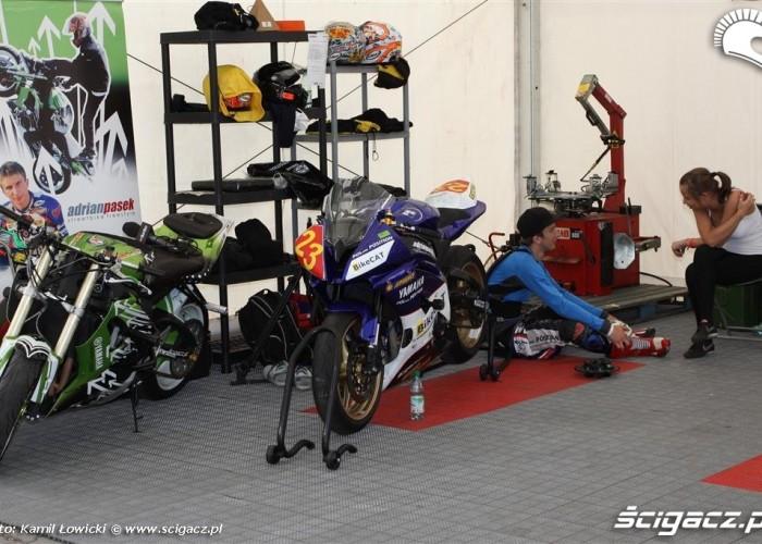 Adrian Pasek motocykle